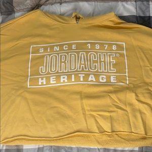 Yellow Jordache Hoodie